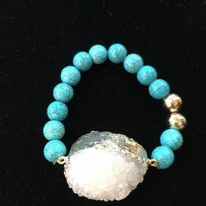 Jewelry - Druzzy Stone Bracelet